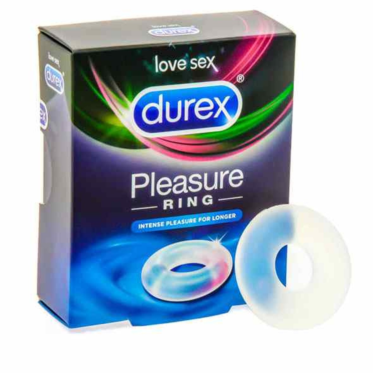 Durex Pleasure Cockring Clear