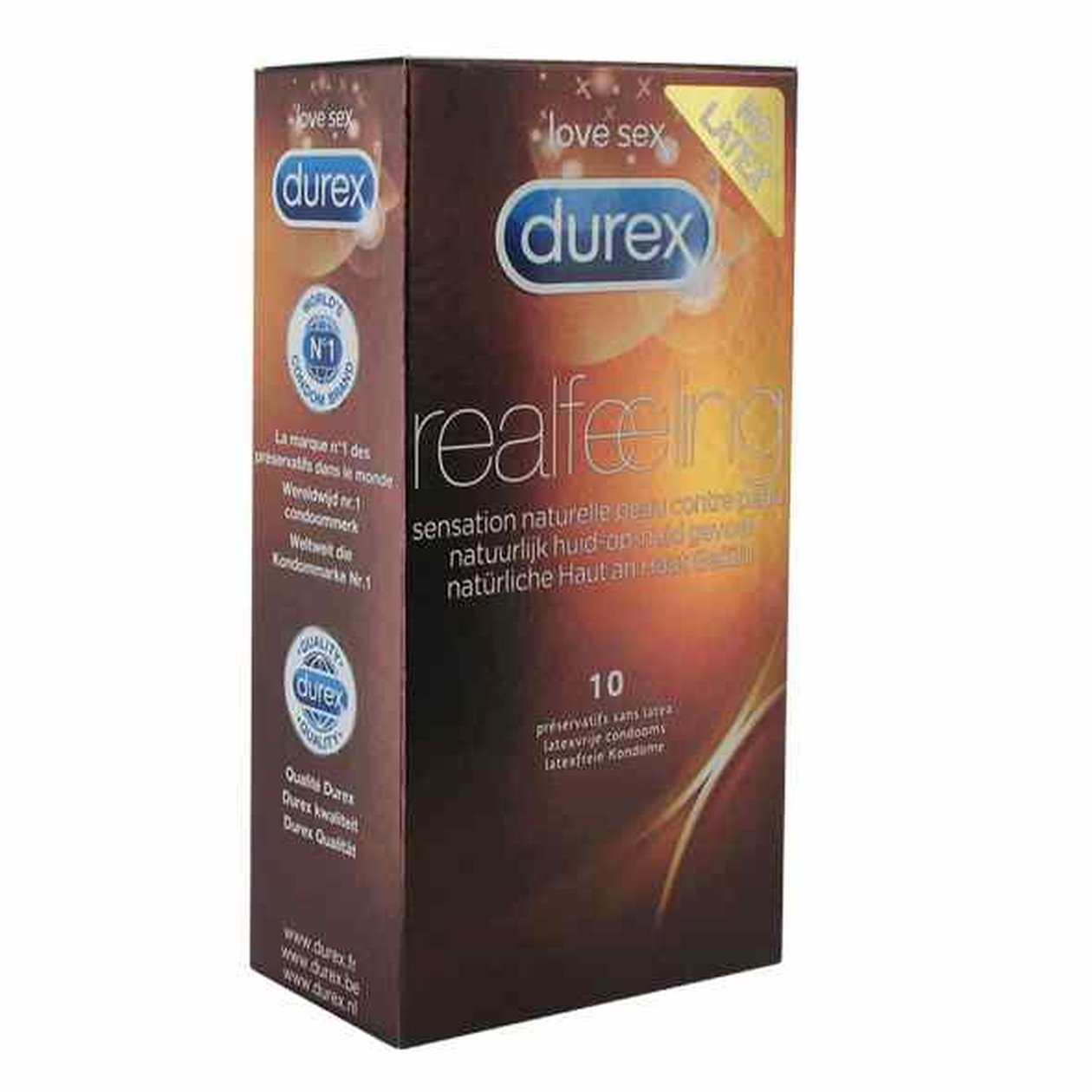 Durex Real Feeling Condoms 10 pcs