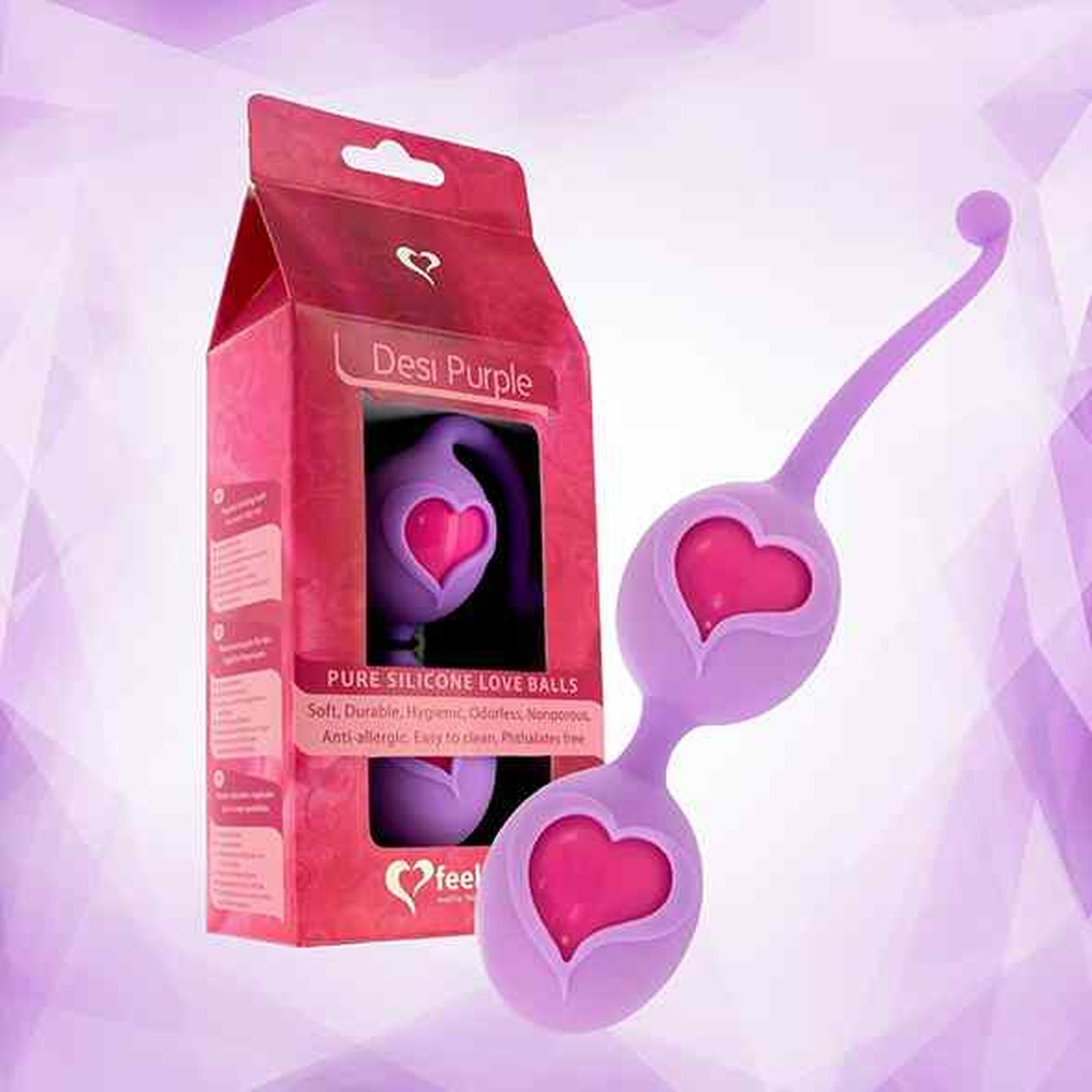 FeelzToys - Desi Love Balls Purple