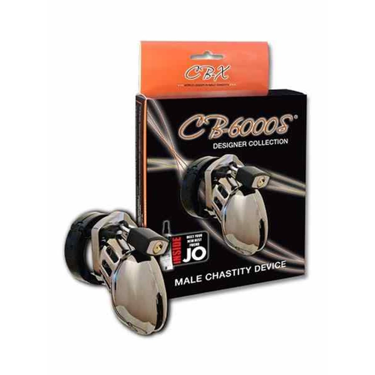 CB-X CB-6000S Chastity Cage Chrome Small